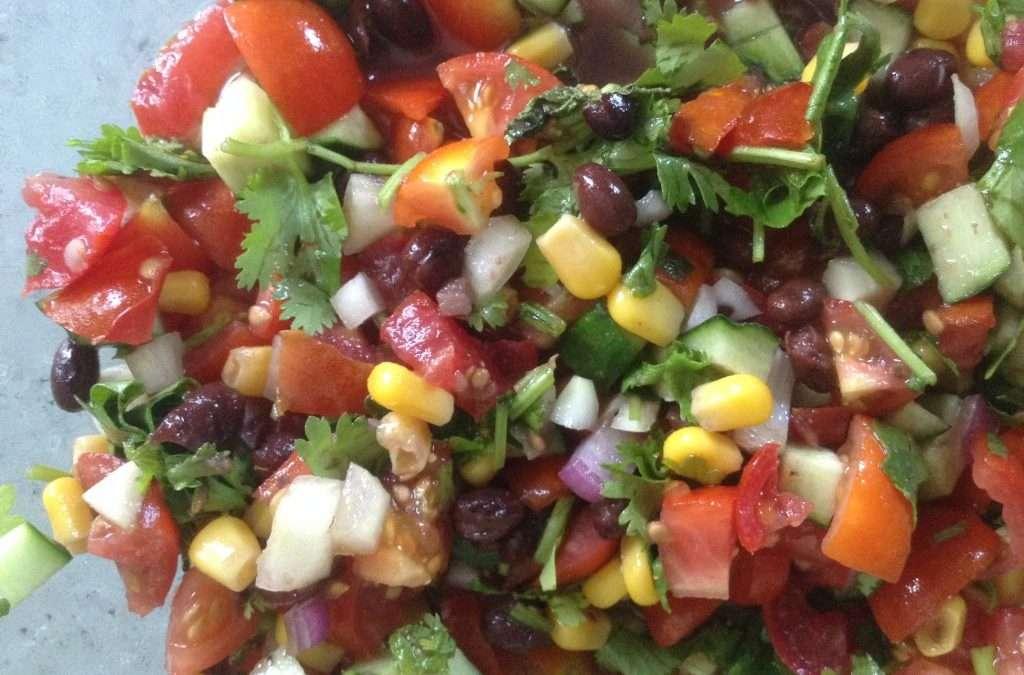 Fresh Garden Salsa Salad