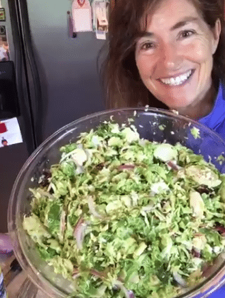 Lets Make Brussels Sprout Salad